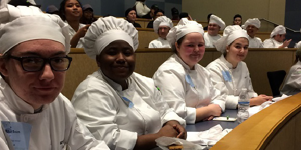 NSHS Culinary Arts attend Boot Camp