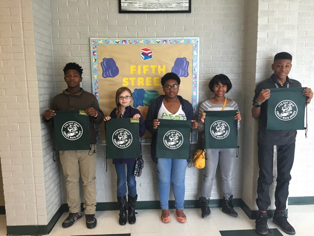 Fifth Street Junior High's October Students of the Month