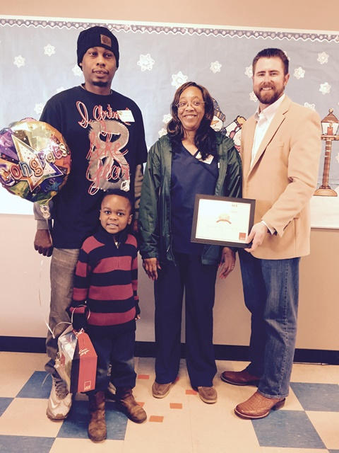 East Side PreK Alfa Student of the Month for January