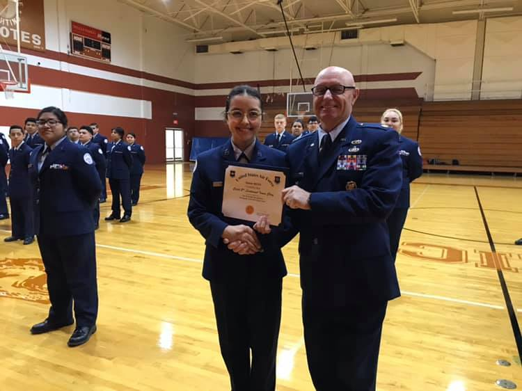 Air Force Junior ROTC Top Performer