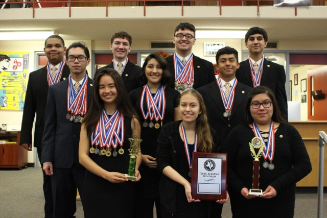 Academic Decathlon Team 2017-2018