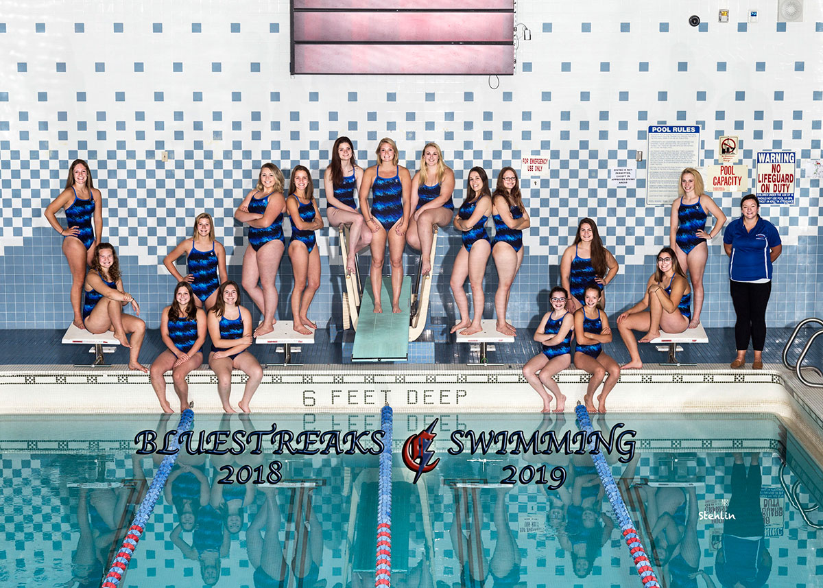 Girls' Varsity Swimming Team