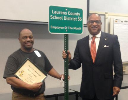 Watts Named District Office Employee of the Month