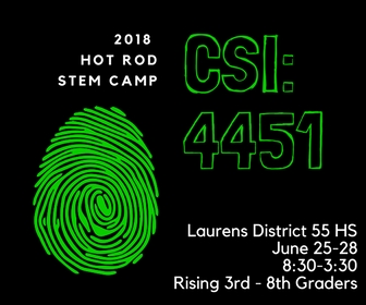 2018 Hot Rod STEM Camp
