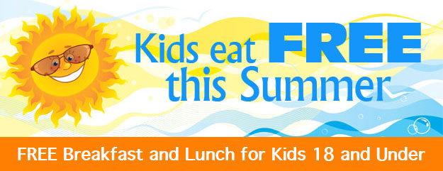 Free Summer Meals for Children and Teens