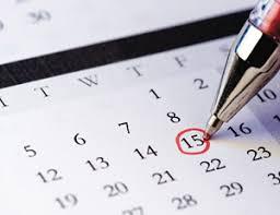2017-2018 Assessment Calendar