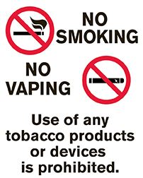 We are a Tobacco Free School District