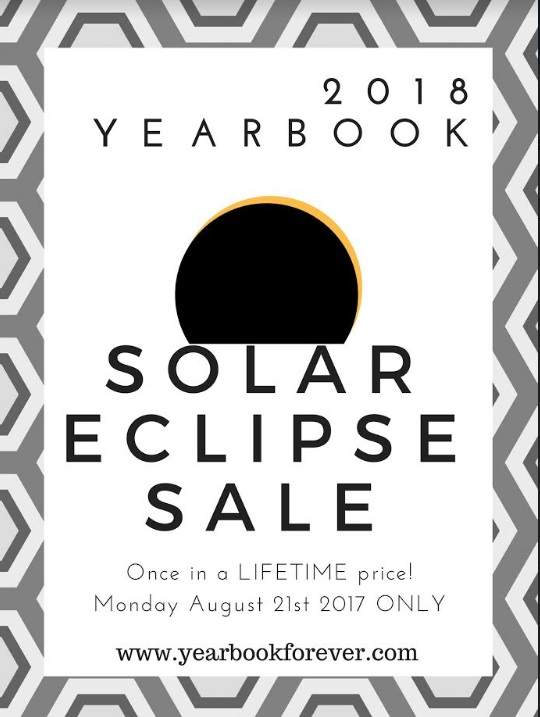 Total Eclipse Yearbook Sale