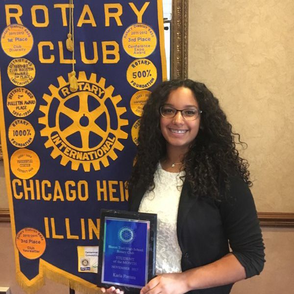 Karla Porrata: November Student of the Month