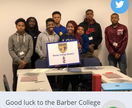 Bloom Twp Barber College