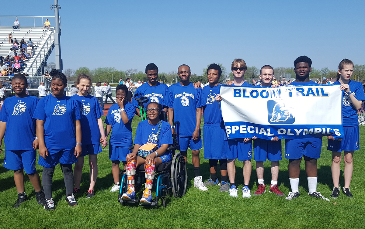 Six Bloom Trail Athletes Take Gold in Special Olympics