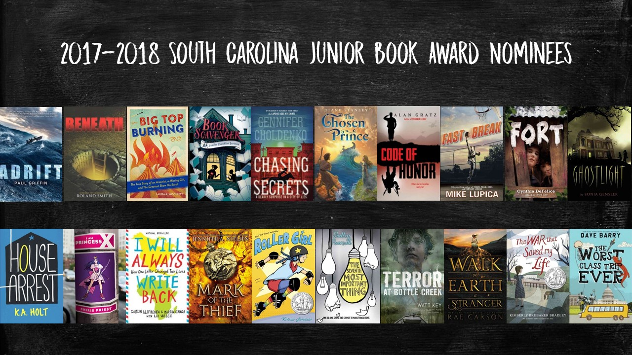 2018 Junior Book Award nominees