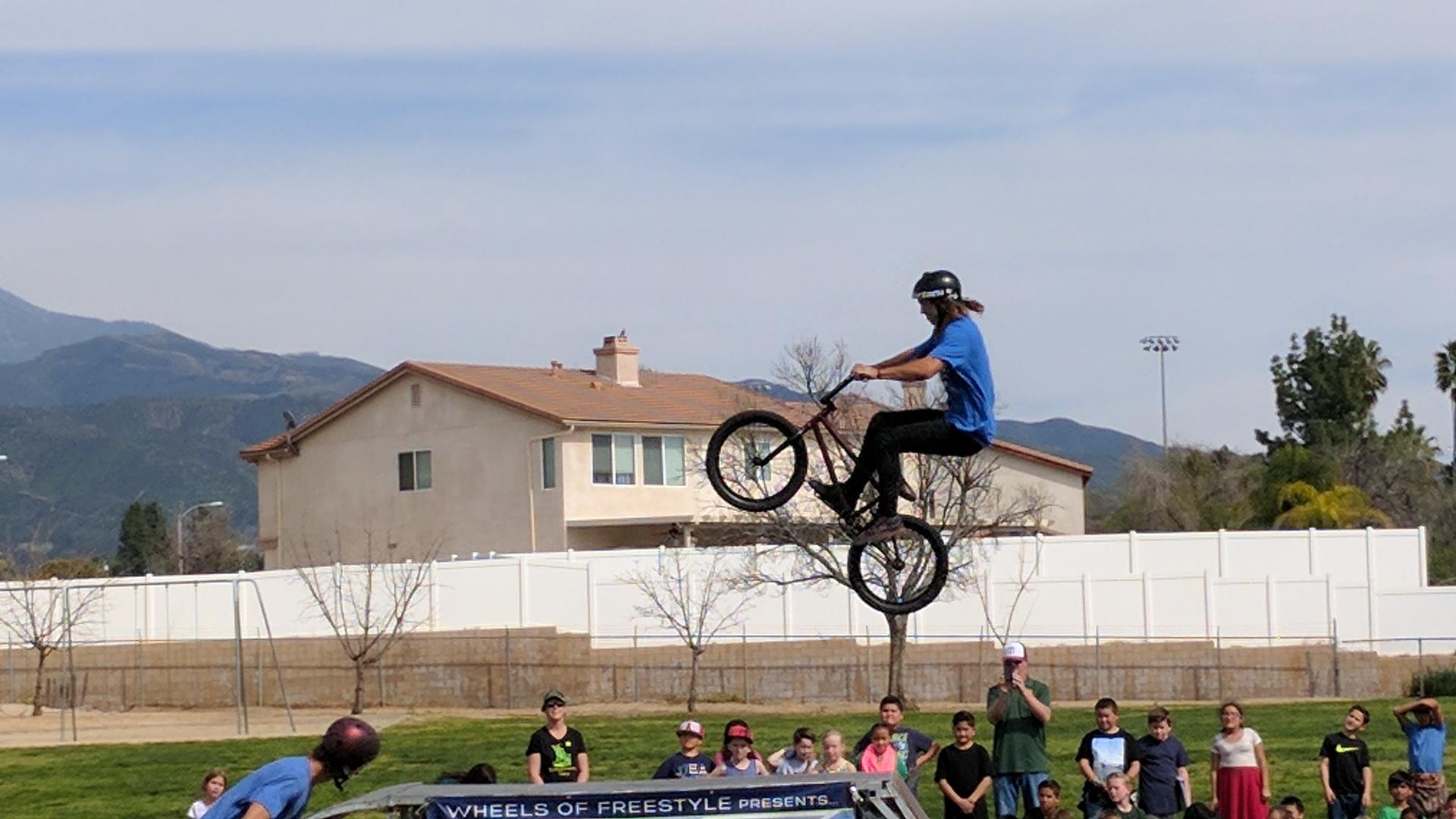 BMX Freestyle assembly