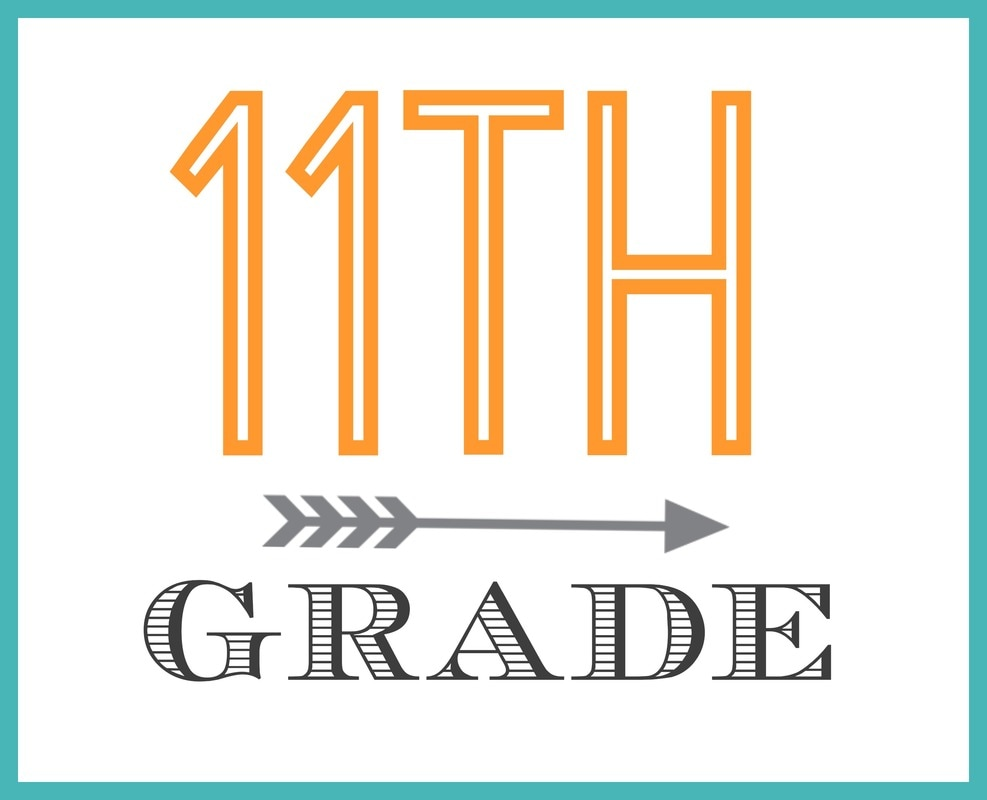 11TH GRADE ~ LIST