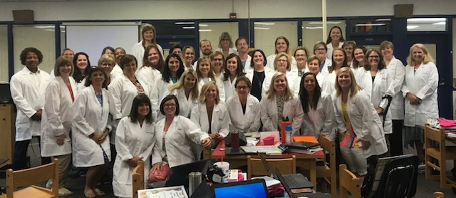CES teachers and Staff are Scientist