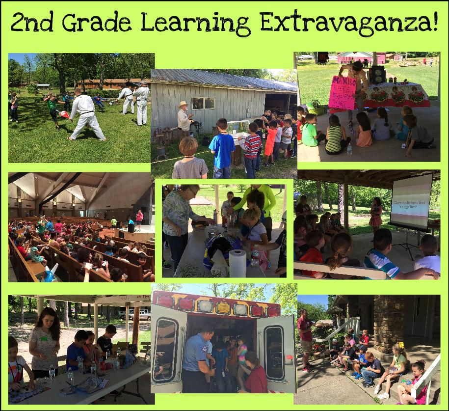 Second Grade Learning Extravaganza!