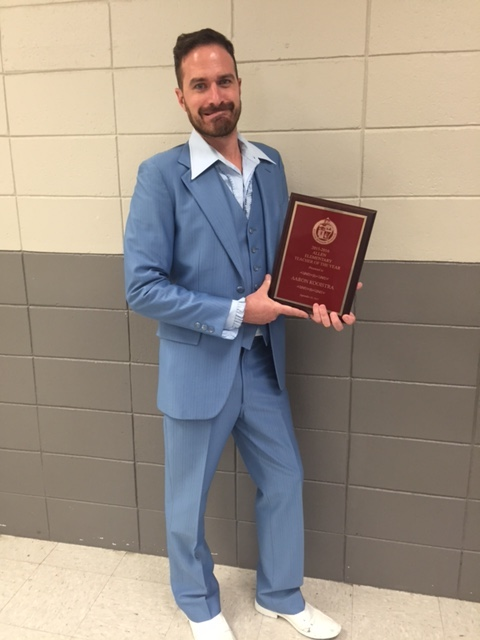 Congratulations, Mr. Kooistra!