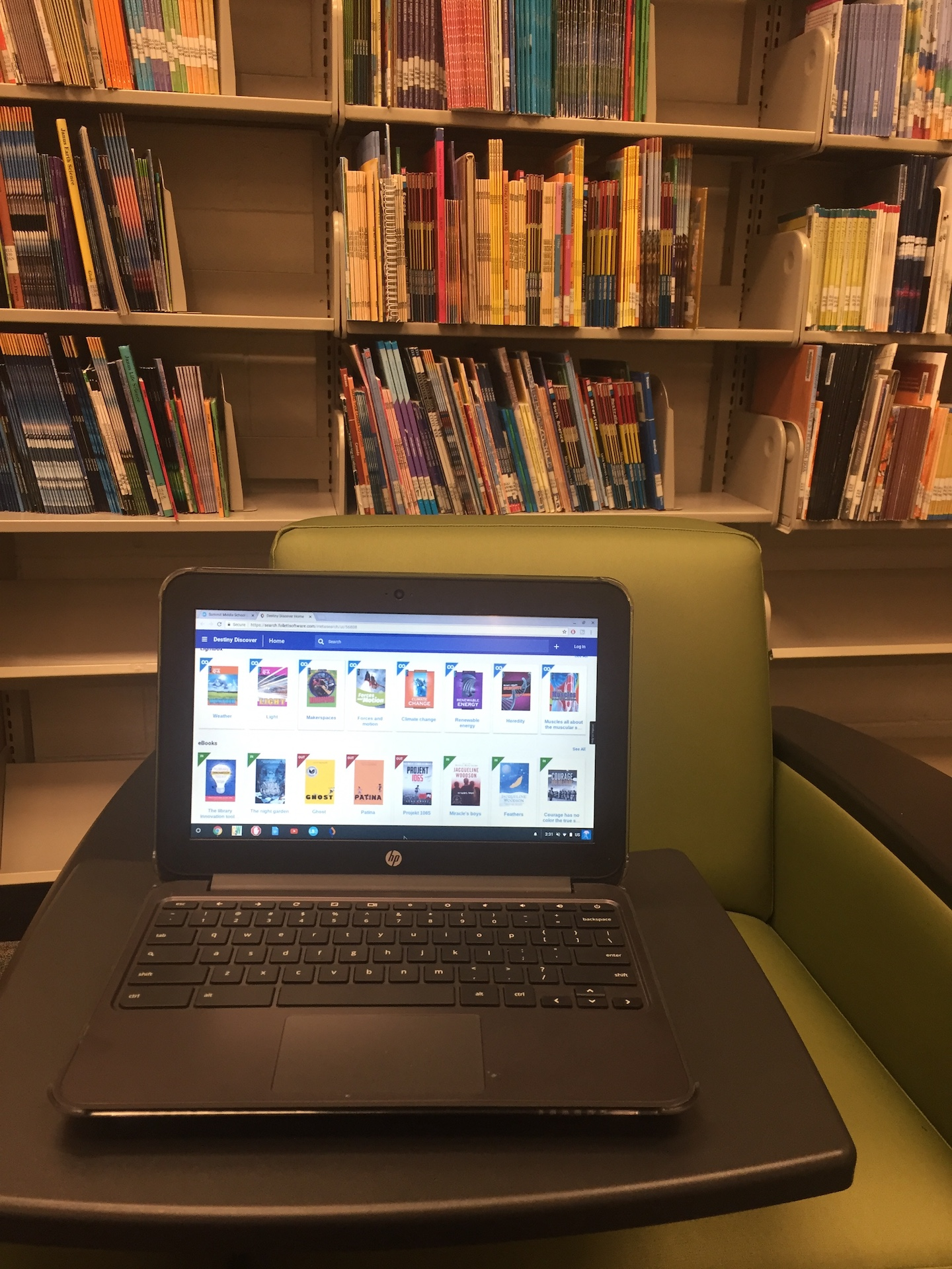 Find an eBook to Read on Your Chromebook
