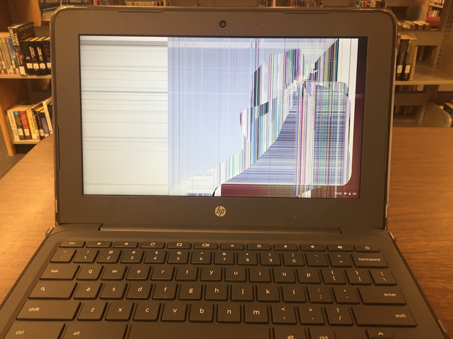 Broken Chromebook?