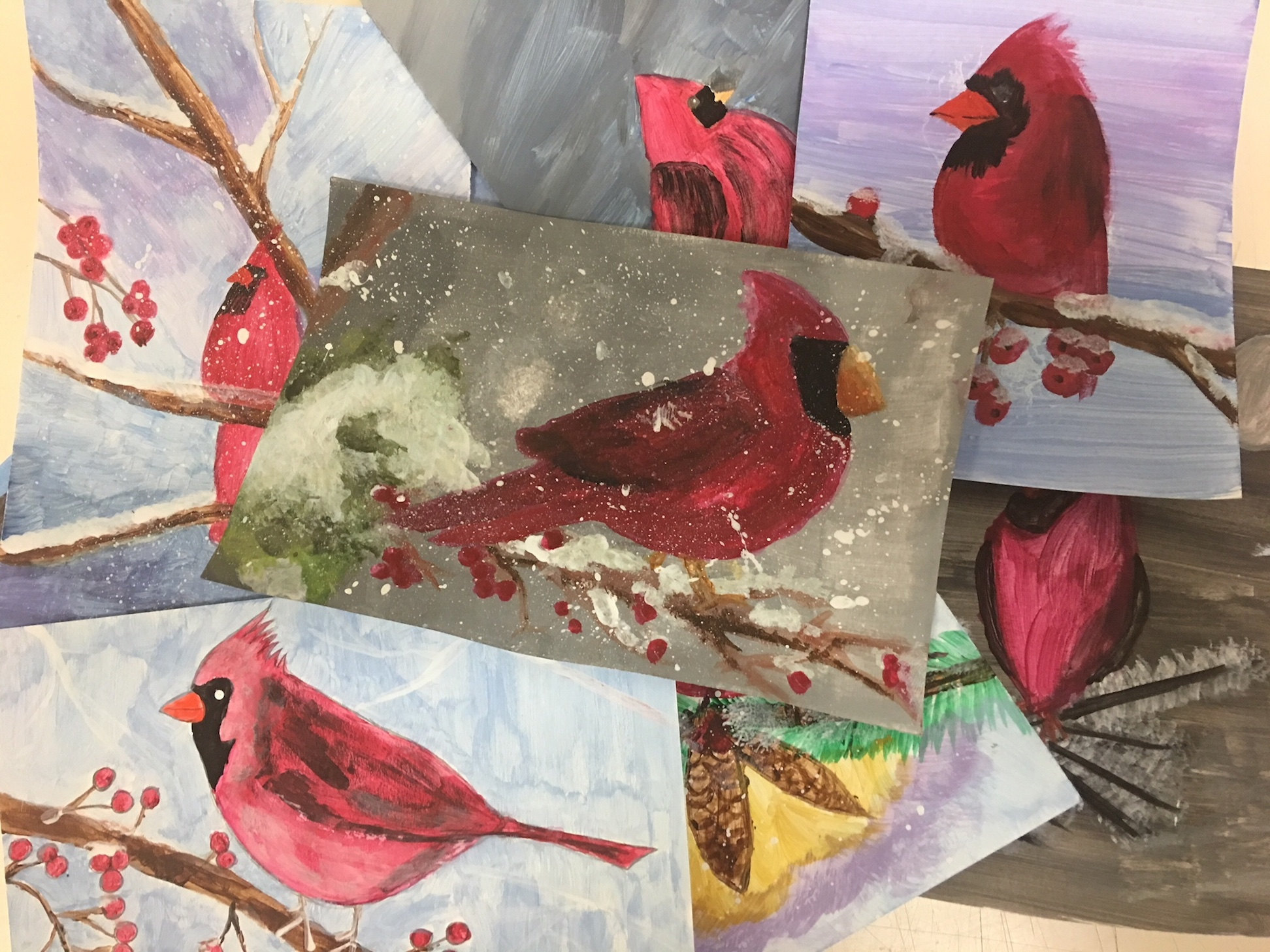 Art Class: Holiday Greeting Cards