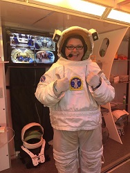 Mrs. King at NASA Teacher Space Camp
