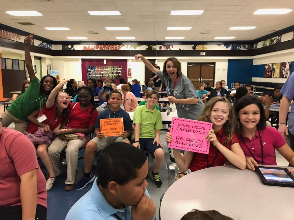 6th Grade's PBL kickoff event