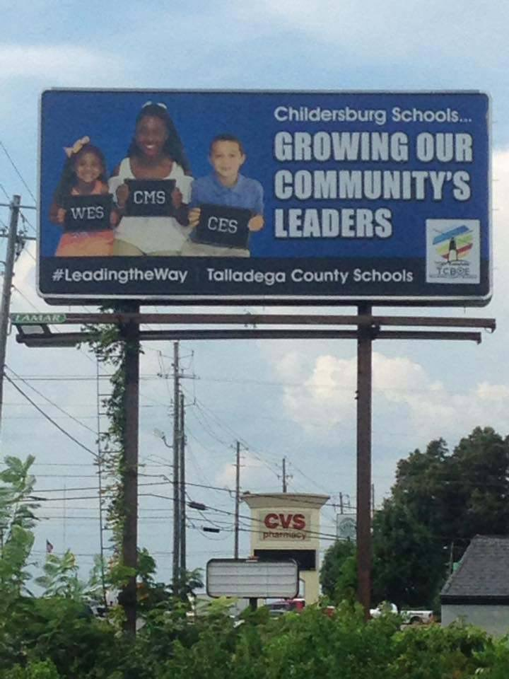 WOW! Look at us on a billboard!