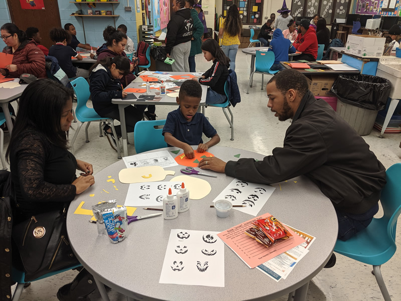 HMS Family Literacy Night