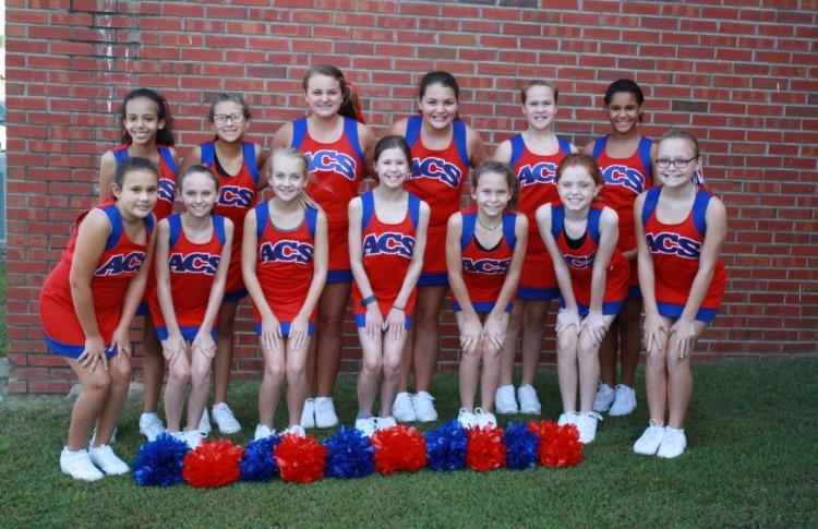 2017-2018 ACS Cheerleaders