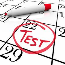 Testing Dates for 2nd Grade