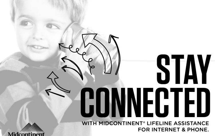 STAY  CONNECTED  WITH MIDCONTINENT
